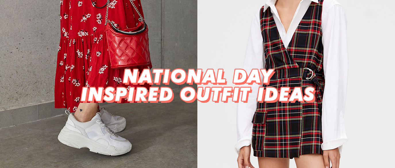 Red And White Outfit Ideas For National Day Singapore