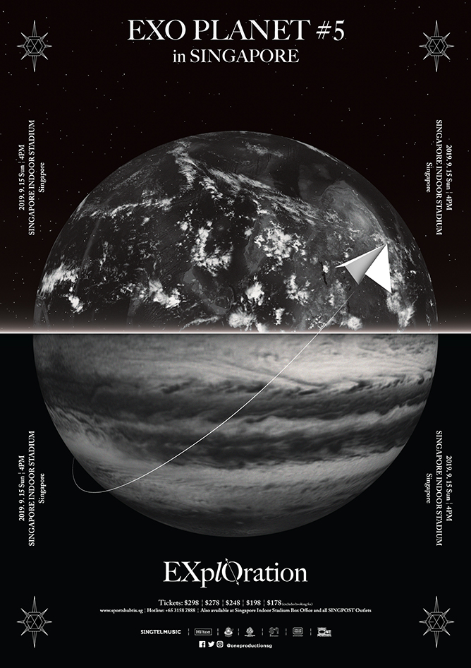 EXO PLANET #5 EXplOration in SINGAPORE
