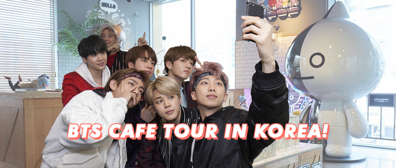 BTS Cafe Tour Seoul Korea