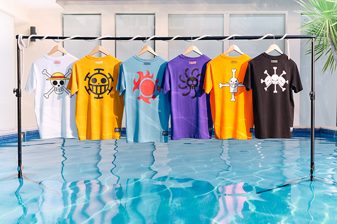 Skechers X One Piece Collection Apparel T-shirts