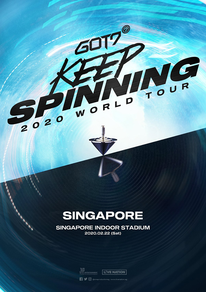 GOT7 Keep Spinning 2020 World Tour in Singapore