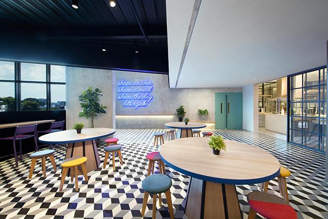 Lyf Funan Singapore Communal Spaces