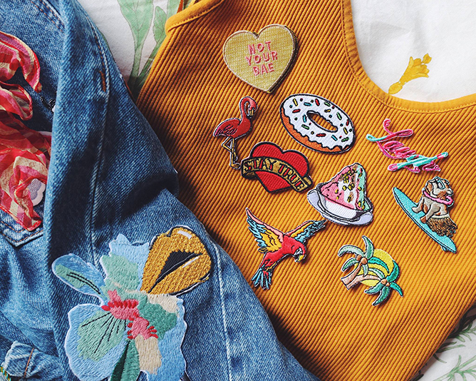 Pew Pew patches
