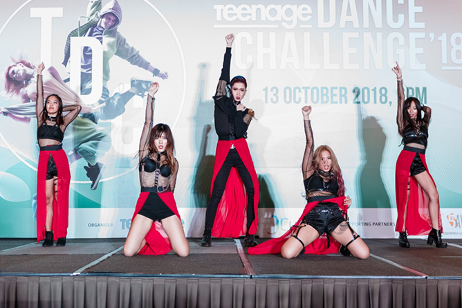 Teenage Dance Challenge 1