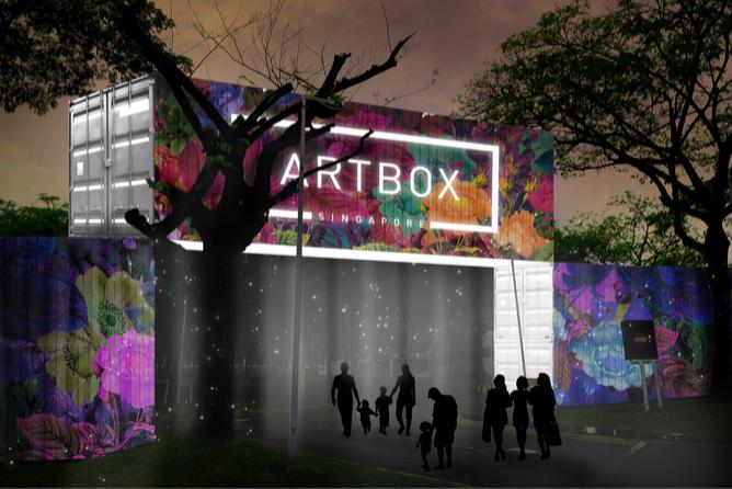 artbox 2019 entrance