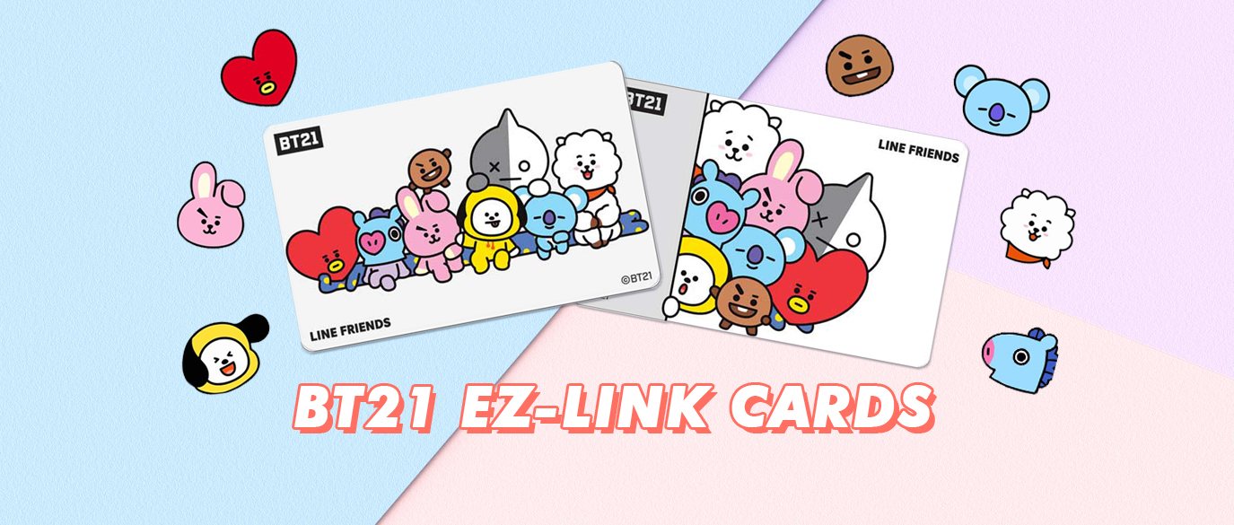 BT21 EZ-LINK Cards Singapore Featured