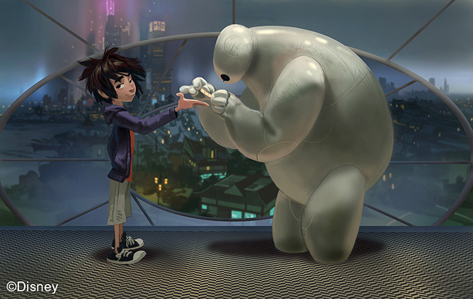Big Hero 6, 2014, Concept art, Paul Felix © Disney
