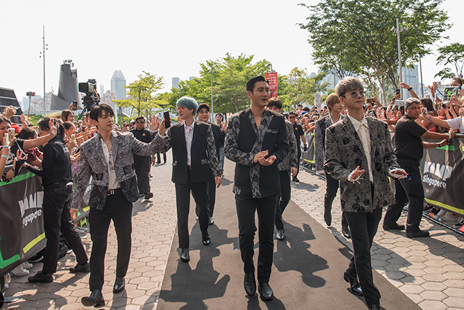 KAMP Singapore 2019 Super Junior Red Carpet