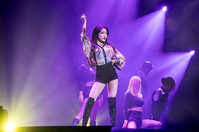 KAMP Singapore 2019 Chungha Concert