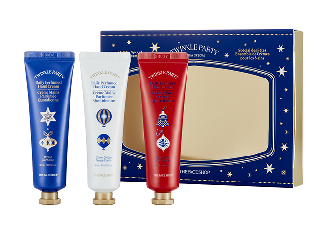THEFACESHOP Daily Perfumed Hand Cream Set