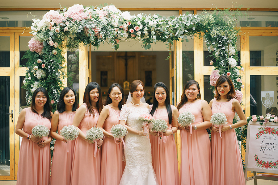 Namsan tower wedding
