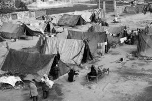 Refugee camp, Muzaffarnagar. December 2013.