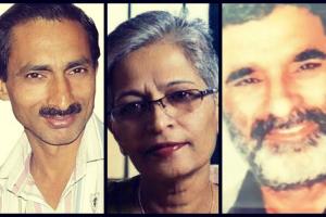 صحافی جوگیندر سنگھ، گوری لنکیش اور رام چندر چھترپتی
