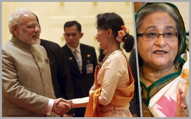 Modi-Suu-Kyi-Hasina