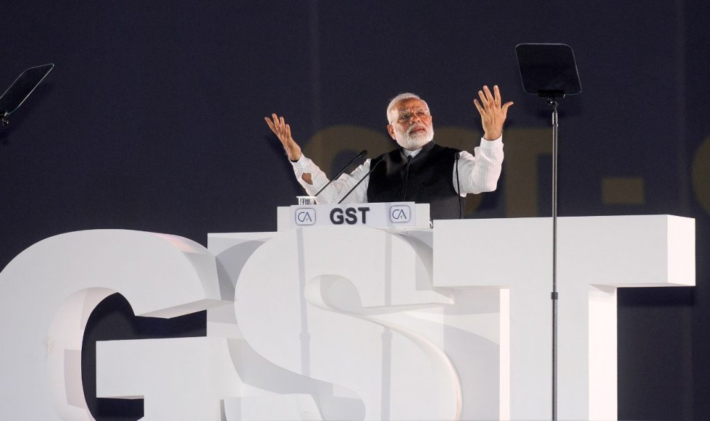Modi-GST-Photo-By-PIB