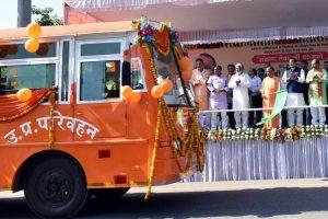 Saffron-Bus-Uttar-Pradesh