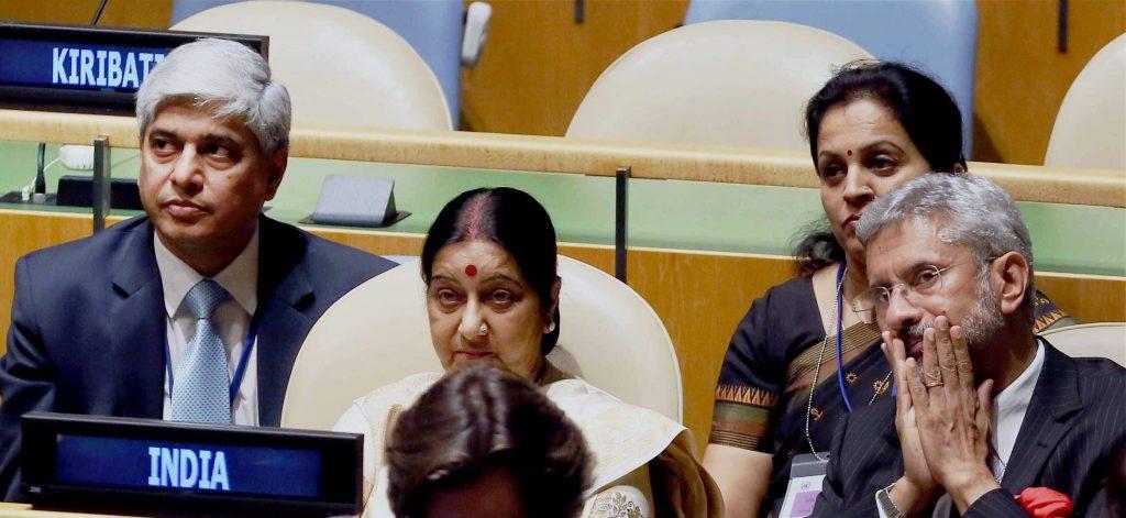 India desk at UNGA