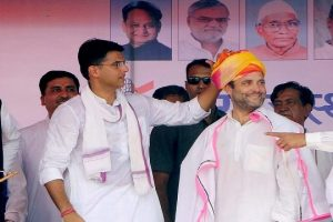 Rahul Gandhi at Banswara in Rajasthan