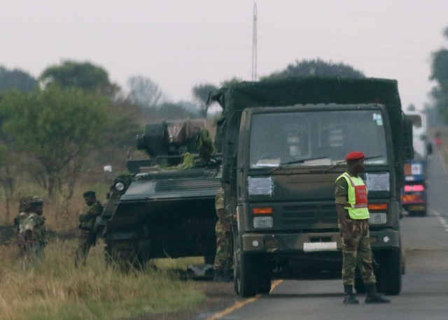 Photo : REUTERS/Philimon Bulawayo
