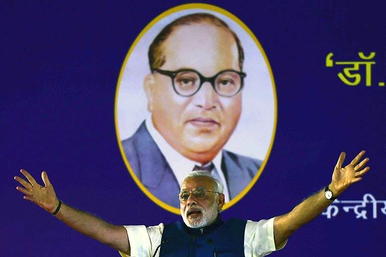 Ambedkar_Narendra-Modi_PTI