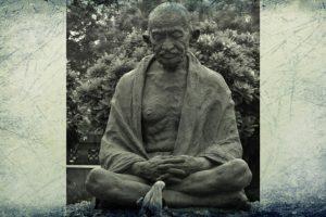 مہاتما گاندھی، فوٹو: پی ٹی آئی