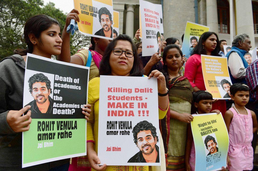 Protest in Bengaluru