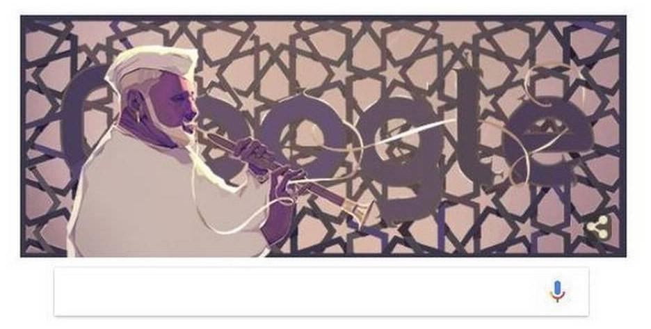 استاد بسم اللہ خاں پر گوگل ڈوڈل