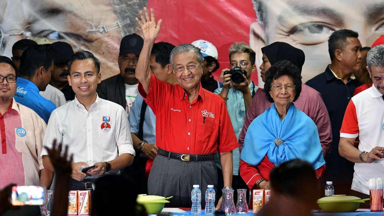 ملائیشیا کے نو منتخب وزیر اعظم مہاتیر محمد (فوٹو : رائٹرس)