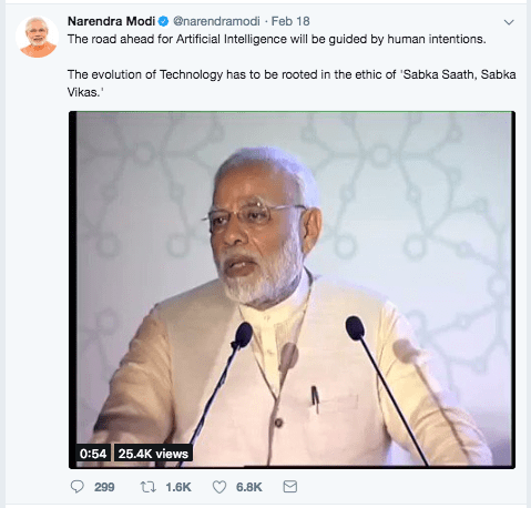 Modi-Tweet-Artificial-Intelligence