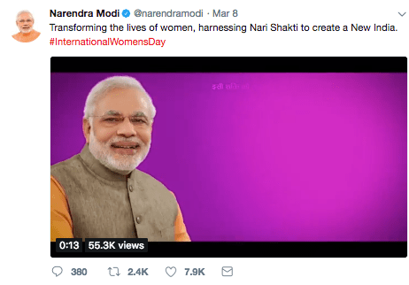 Modi-Tweet-Womens-day
