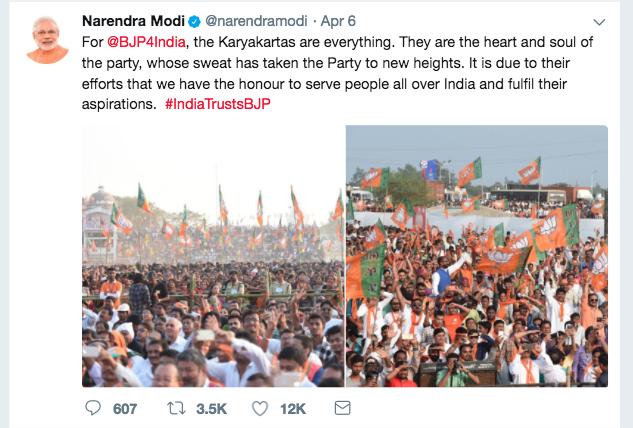 Modi-Tweet-Bjp