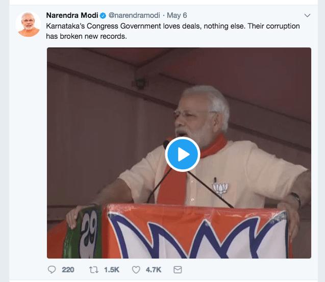 Modi-Tweet-Karnataka