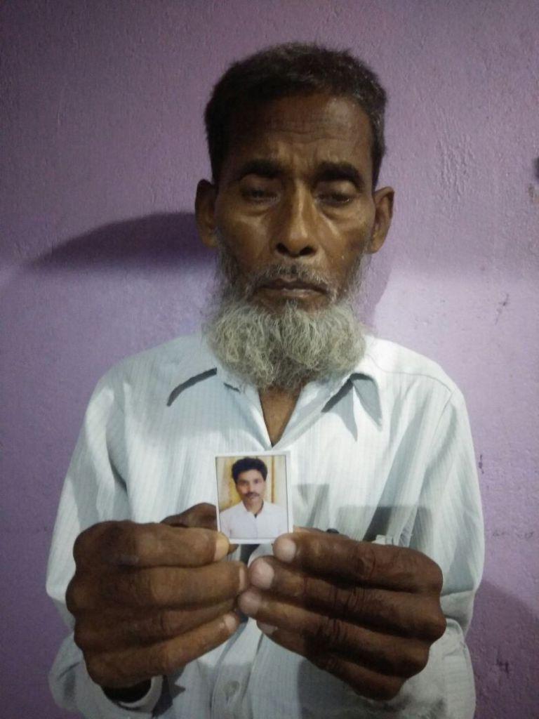 توحید کے والد خلیل انصاری/فوٹو: نیرج سنہا/ دی وائر