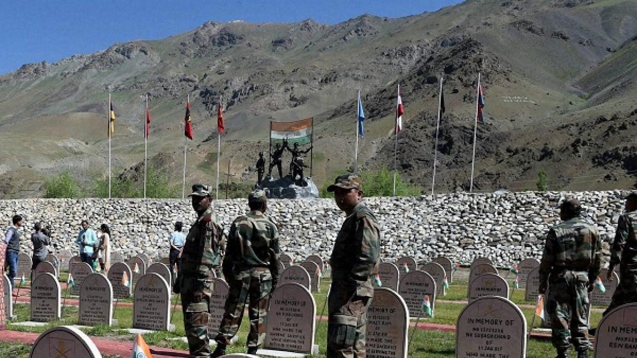 Kargil War Memorial PTI