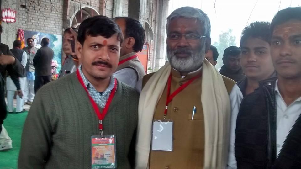 اتر پردیش کے نقل وحمل کے وزیر سوتنتر دیو سنگھ ڈاکٹر آدتیہ کمار سنگھ۔ (فوٹو : فیس بک پروفائل)