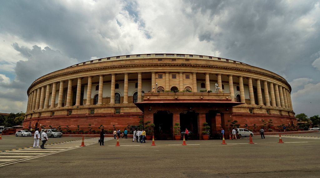 ہندوستانی پارلیامنٹ (فوٹو : پی ٹی آئی)