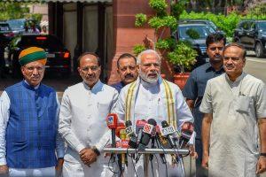 وزیر اعظم نریندر مودی۔ (فوٹو : پی ٹی آئی)