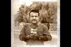 صحافی درگ سنگھ راج پروہت (فوٹو بشکریہ : فیس بک)