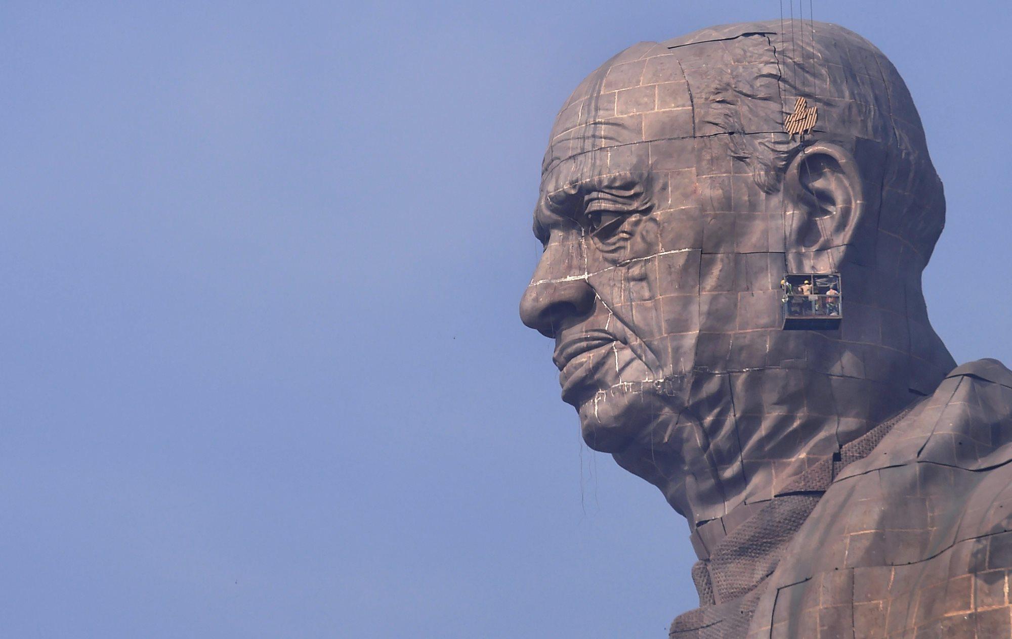 سردار پٹیل کا مجسمہ(فوٹو : پی ٹی آئی)