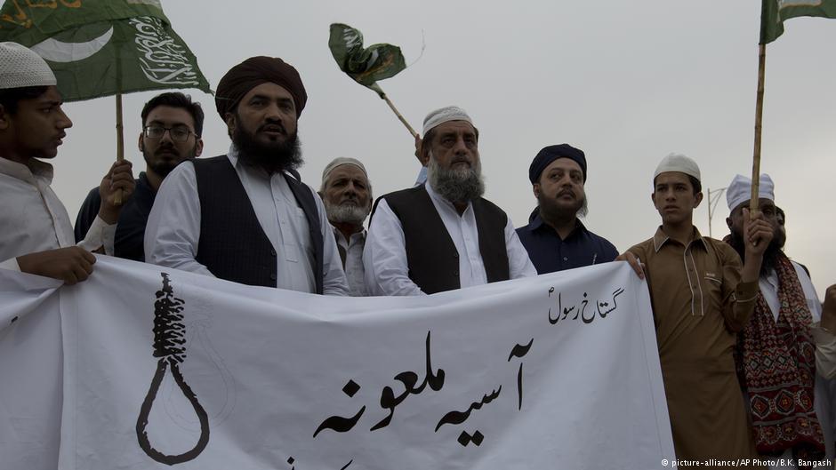تحریکِ لبیک پاکستان نے آسیہ بی بی کی رہائی کے خلاف سخت موقف اپنا رکھا ہے