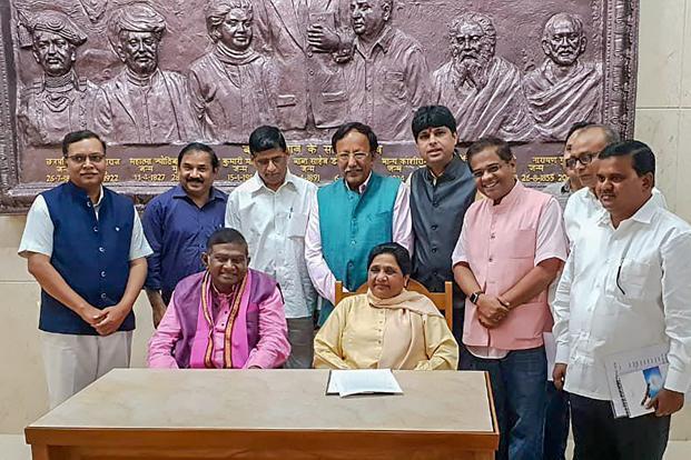 AjitJogi_Mayawati_PTI