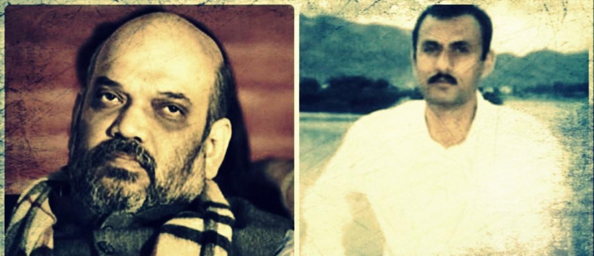 امت شاہ اور سہراب الدین شیخ (فوٹو : رائٹرس)