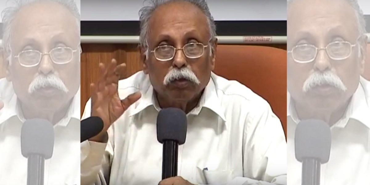 حکومت ہند کے سابق سکریٹری پی ایس کرشنن