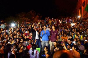 جواہر لال نہرو یونیورسٹی (فوٹو : پی ٹی آئی)
