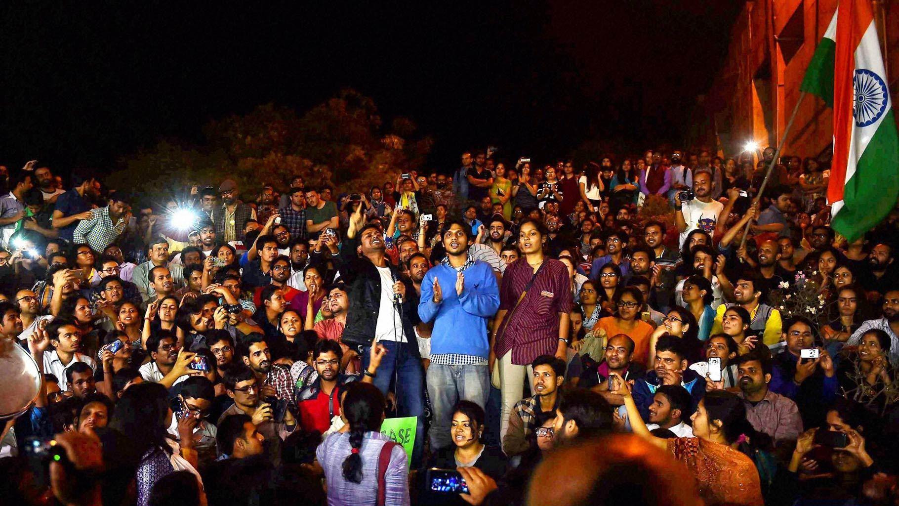 (جواہر لال نہرو یونیورسٹی (فوٹو : پی ٹی آئی