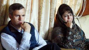 عمر عبداللہ اور محبوبہ مفتی (فوٹو : پی ٹی آئی)