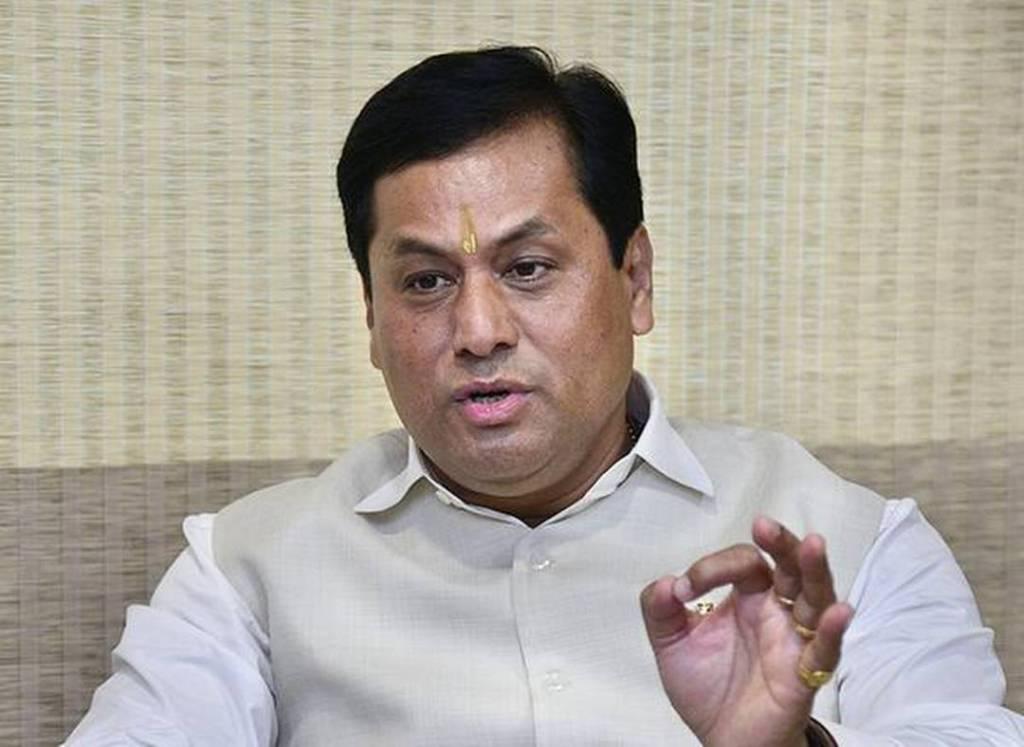 آسام کے وزیراعلیٰ سربانند سونووال(فوٹو : پی ٹی آئی)