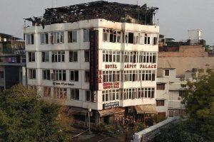 Hotel Arpit Palace in New Delhi. Credit: PTI