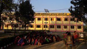 اعظم گڑھ کا راجکیہ آشرم پدھتی بالیکا انٹر کالج (فوٹو :بہ شکریہ فیس بک)