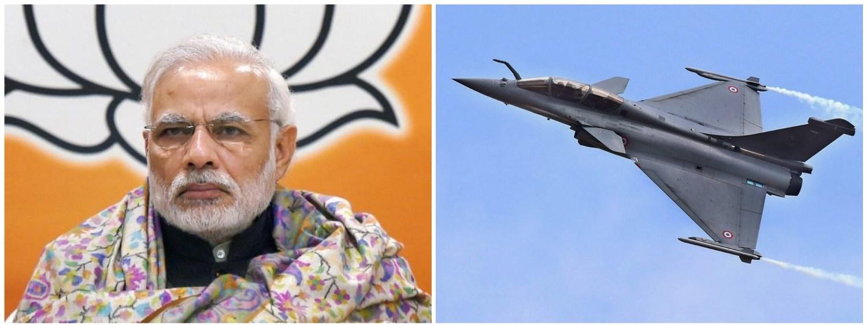وزیر اعظم نریندر مودی اور رافیل(فوٹو : پی ٹی آئی)